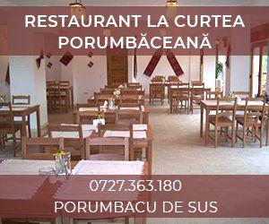 Restaurant La Curtea Porumbaceana