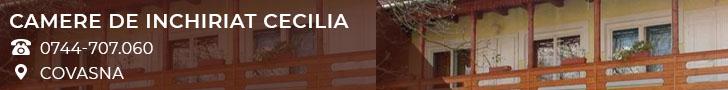 Camere de inchiriat Cecilia