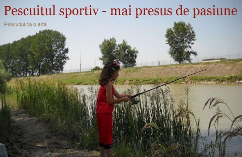 Pescuitul sportiv - mai presus de orice pasiune